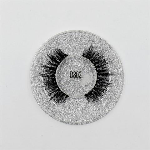 Mink Lashes 3D Lashes New Women Lady Natural Soft Black Fake Eye Lashes Handmade Thick Fake False Eyelashes Makeup Tools D802 Karachi