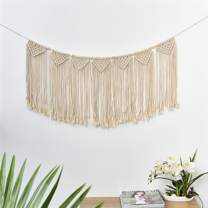 Hanging Decorations For Home: Unique Tassels Wall Hanging Handmade Macrame Home Decor