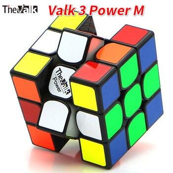Valk3 Potenza M Cubo Magnetico/Valk 3/Mini Valk3 Formato Cubo 3x3 Velocità Mofangge Concorrenza Cubi giocattolo WCA di Puzzle Magico del Cubo