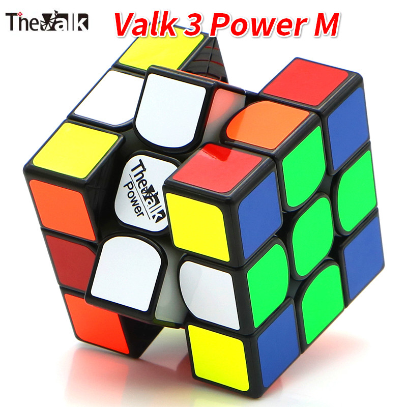 Valk3 Power M Magnetic Cube/Valk 3/Mini Valk3 Size Cube 3x3 Speed Mofangge Competition Cubes Toy WCA Puzzle Magic Cubo