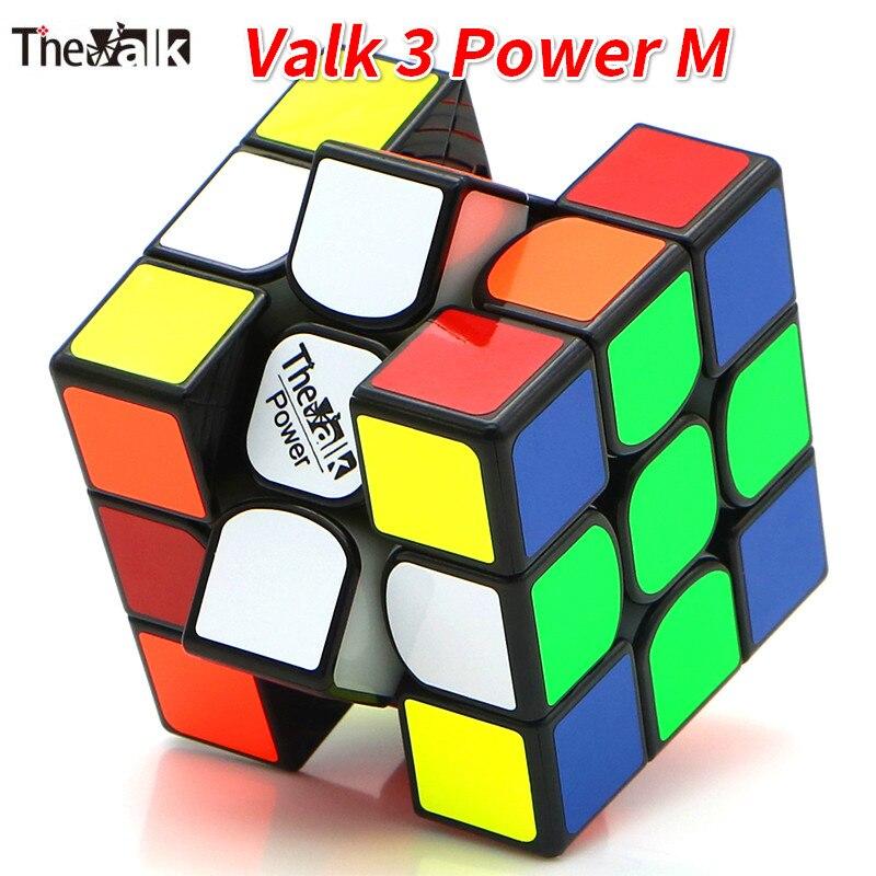 Valk3 power m cubo magnético/valk 3/mini valk3 tamanho cubo 3x3 velocidade mofangge competição cubos brinquedo wca quebra-cabeça mágico cubo