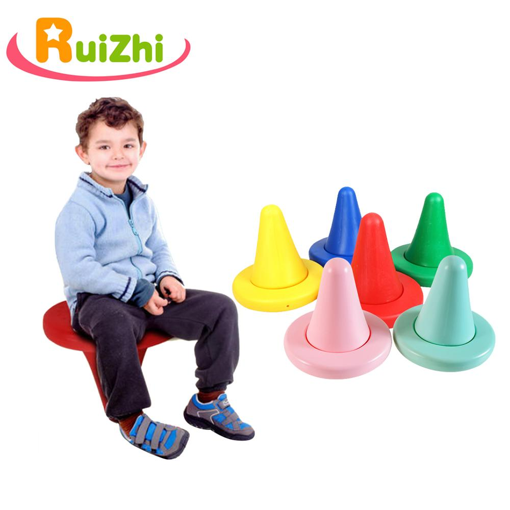 Ruizhi Children Balance Chair Outdoor Sports Toy Kindergarten Sensory Training Equipment Balancins-Rocker Board Kids Toys RZ1027