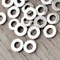800Pcs Antique Silver Tibetan Silver Tone 6x6x1mm Ring Fashion Beads Zinc Alloy Fit Bracelet Necklace Wholesale TS1152