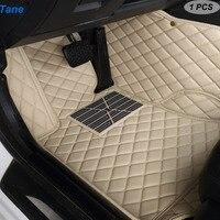 Tane leather car floor mats For mercedes w245 w169 ml w163 w164 w246 slk r171 cls w219 w212 w245 cla gla accessories carpet rug