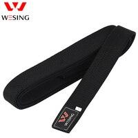 Wesing Professional Taekwondo Black Belt Martial Arts Waistband Sports Belt Training Competition 100% Cotton