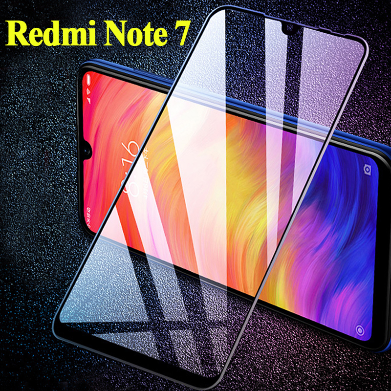 2 in 1 Camera Lens Film Tempered Glass for Redmi Note 7 Glass Protective Glass for