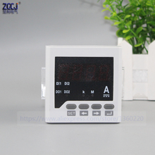 New 2015 Panel mounted 72*72mm Single Phase DC AMP Meter/amperemeter,led Digital DC ampere meter, 0-5A  current meters цены