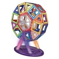 52pcs Magnetic Building Blocks Magnet Tiles Educational Stacking Blocks Toys for Children Creative Imagination Development