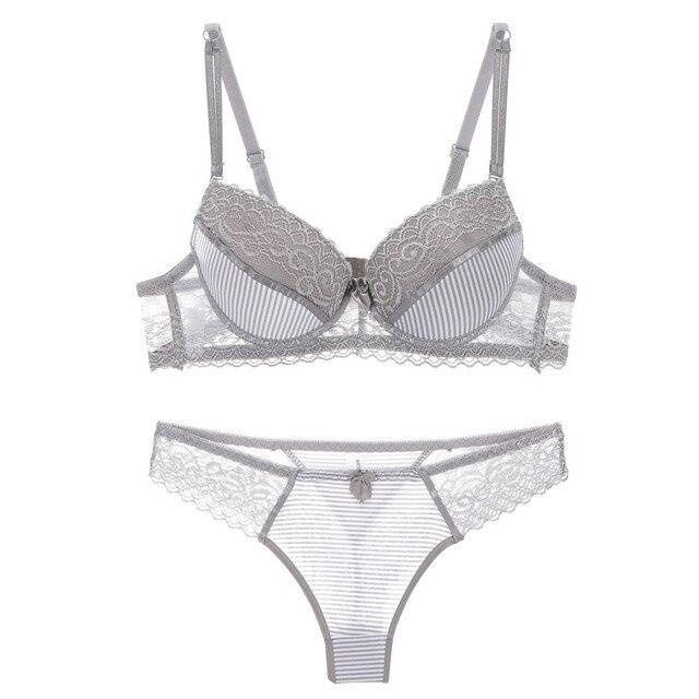 ABC sexy bra set lace push up women underwear panty set cotton refreshing  bra brief sets France lingerie suit 6657ea2c9