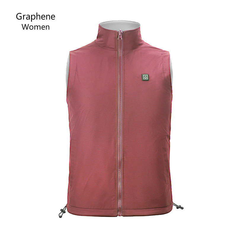 Hiking Jackets Well-Educated Intelligent Usb Waistcoat Men Women Heating Coat Graphene Carbon Fiber Fleece Outdoor Mountaineering Waistcoat Size S-xxxl Aromatic Flavor Sports & Entertainment