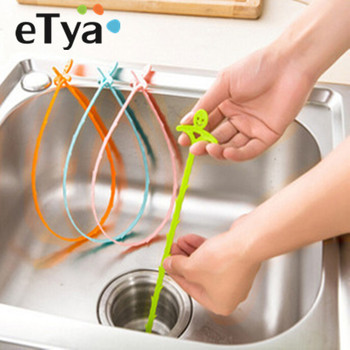 4pc Bathroom Hair Sewer Filter Drain Cleaner Outlet Kitchen Sink Drian Filter Strainer Anti Clogging Floor Wig Removal Clog Tool