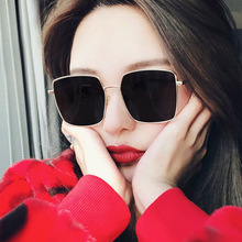 New Square Sunglasses Women Brand Designer Sunglases Men Metal Frame Driving Fishing Gradient Sun Glasses Female shauna newest contrast color frame women sunglasses brand designer mixed color gradient square glasses