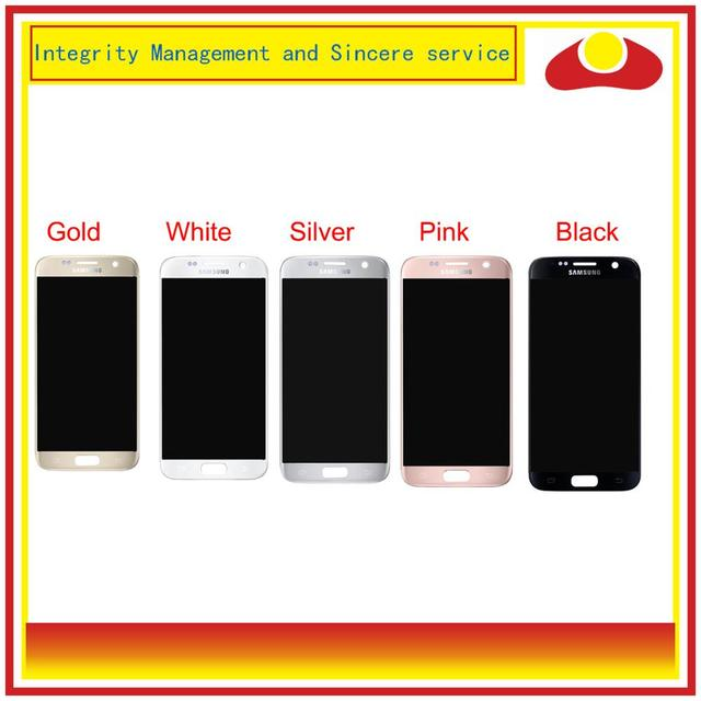 10 teile/los Für Samsung Galaxy S7 G930 SM G930F G930F LCD Display Mit Touch Screen Digitizer Panel Pantalla Komplette