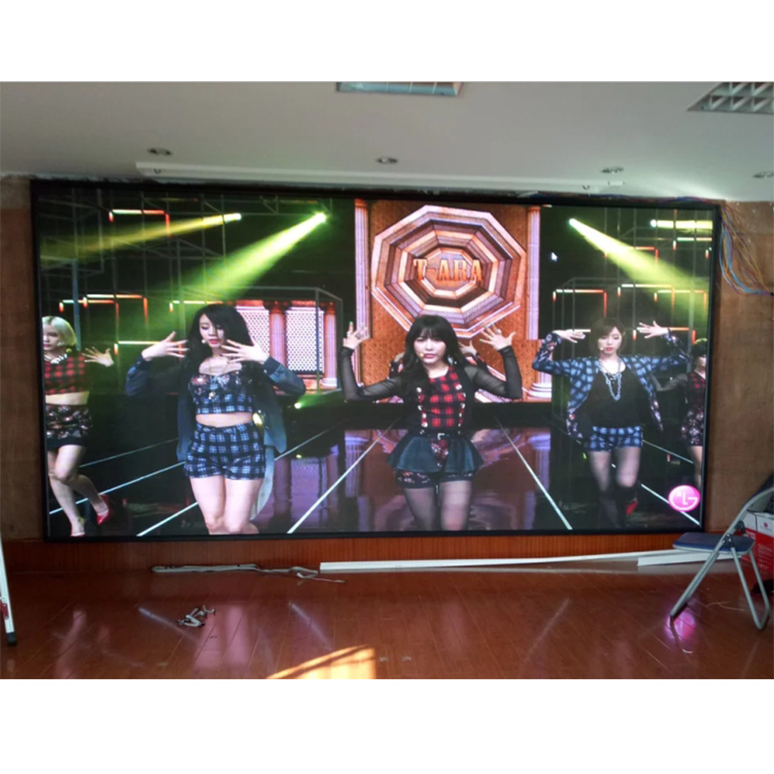 Fixed installation video panel p4 led module 64 * 32 indoor large led video wallFixed installation video panel p4 led module 64 * 32 indoor large led video wall
