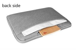 Image 3 - Bolsa para ordenador portátil de 12 15 pulgadas para hombre, maletín para ordenador portátil multifunción, sencillo, para oficina, negocios, Dell, HP