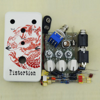 NEW DIY Distortion Electic Pedal Kit Guitarra Distortion Guitar Effects Dragon Pedal Box DS 2 FREE