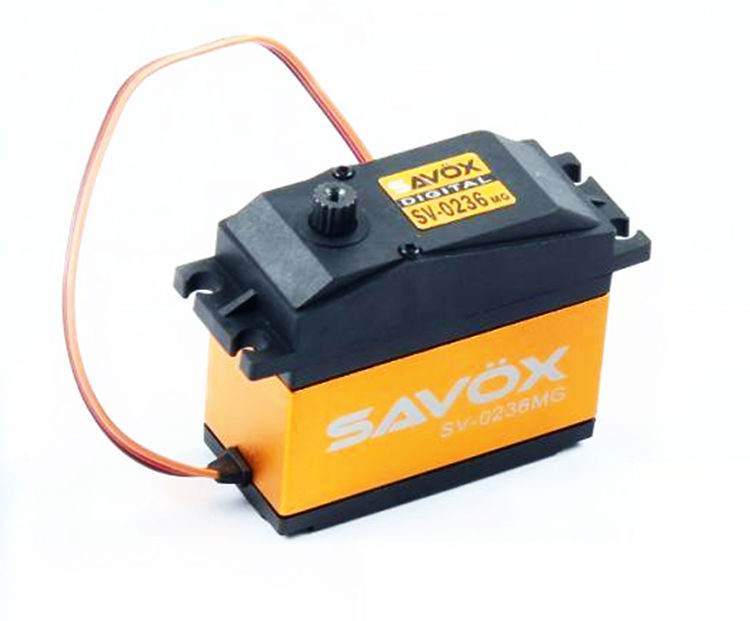 SAVOX 0236MG 7.4V HIGH VOLTAGE 40KG 0236 Servo for 1/5 LOSI DBXL 5IVE-T HPI BAJA 5B 5T 5SC Steering Servo RC Car Parts