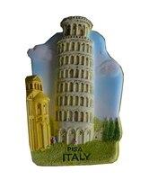 Пизанская Башня, италия Холодный Фарфор Ручная Роспись 3D Магниты На Холодильник Туристические Сувениры Холодильник Магнитные Наклейки