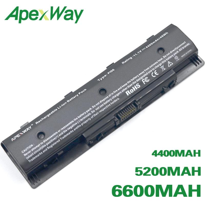 ApexWay Laptop Battery For HP 709988-541 HSTNN-LB4O TPN-Q117 F3B94AA HSTNN-UB4N TPN-Q118 F3B94BB PI06 PI09 TPN-Q120