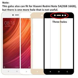 Image 2 - 2Pcs Glass For Xiaomi Redmi Note 5A Prime 5 6 Pro Redmi 6A 5A 5 Plus 4X S2 Screen Protector Tempered Glass Full Cover Phone Film