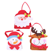 New year Christmas decorations Xmas Sticker Cartoon Doll Gift Bag cristmas Child Candy Apple Bag navidad Party weihnachten AB320 baked doll christmas candy party dress