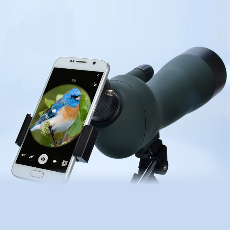 Portable Photography Adapter Mount Connector Universal Smartphone Quick for Telescope Binoculars Monocular Cell Mobile Phone
