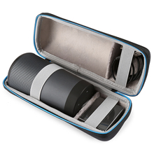 Travel Case For Bose Soundlink Revolve Bluetooth Speaker Carry Protective Speaker Box Pouch Cover Extra Space For Plug & Cables цена