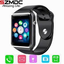 A1 ребенок Bluetooth Smart часы с Камера Facebook Whatsapp Twitter синхронизации SMS Smartwatch Поддержка SIM карты памяти для IOS Android