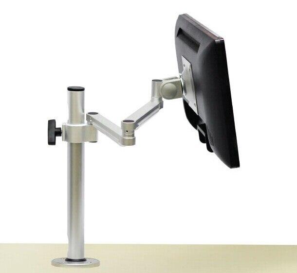 Articulating Lcd Led Tv Wall Mount Desktop Keyhole Type Pneumatic
