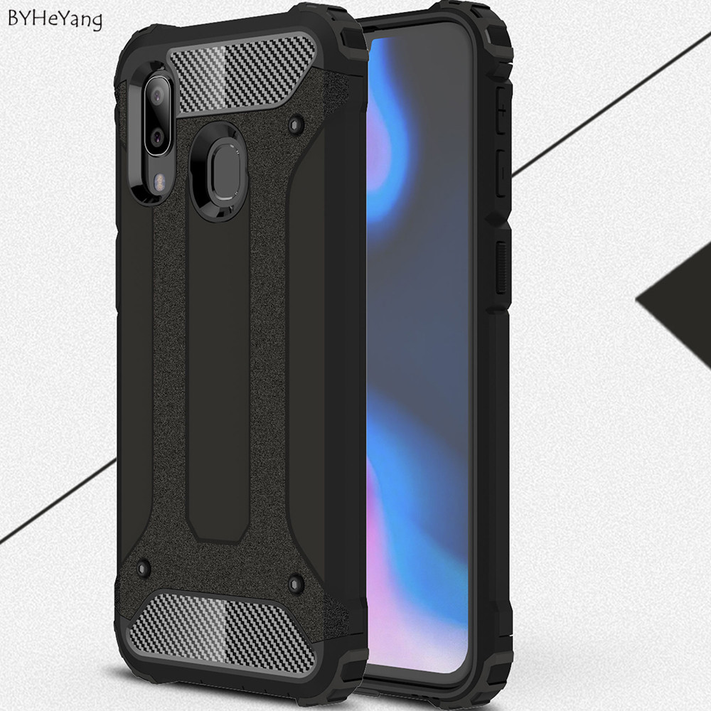 For Samsung A40 Case Cover Hybrid Armor Cover For Samsung Galaxy A40 Case Coque For Samsung A40 Cover Protective Soft Fit A 40