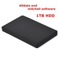 All data auto repair software HDD Alldata 10.53 Mitchell on demand software 2015 ATSG car repair data software in 1tb usb hdd