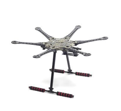 S550 550 อัพเกรด Hexacopter กรอบชุด Unflodable Landing เกียร์สำหรับ FPV-ใน ชิ้นส่วนและอุปกรณ์เสริม จาก ของเล่นและงานอดิเรก บน   2