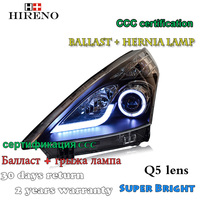 Hireno Car Styling Headlamp For Nisasn Teana Altima 2008 2011 Headlight Assembly LED DRL Angel Lens