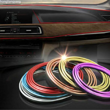 diy universal SUV sedan Hatchback pvc car stickers waterproof sticker for Interior decoration red blue yellow silver