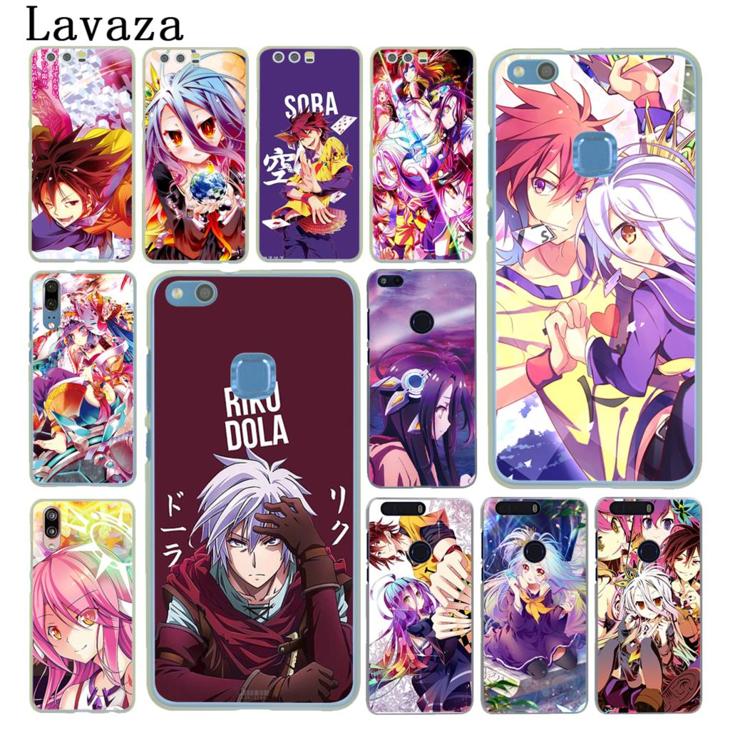 Lavaza No Game NO life <font><b>Anime</b></font> Phone Case for <font><b>Huawei</b></font> Y9 Y7 Y6 Prime 2019 2018 <font><b>Honor</b></font> 20 10 8C 8X 8 9X <font><b>9</b></font> <font><b>Lite</b></font> 7C 7X 7A Pro Cover image