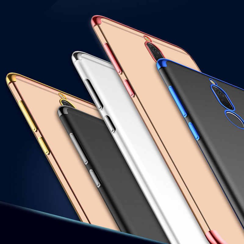 עבור Huawei נובה 2i מקרה Mate 10 Lite מקרה רך TPU סיליקון כיסוי יוקרה צבעוני שקוף חזרה כיסוי עבור Huawei mate 20 לייט