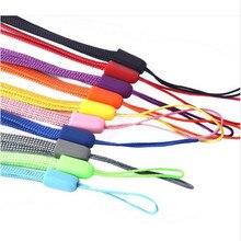100 Pcs Black Cell Phone Lanyard Cords Strap Lariat Mobile  Fashion Universal Detachable lanyard for phone neck strap цены онлайн