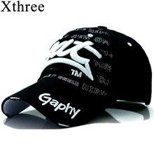 Xthree, бейсболки, кепки, хип-хоп облегающие дешевые шляпы для мужчин и женщин, кепки с изогнутыми полями, поврежденная Кепка