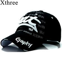 Xthree wholesale snapback hats baseball cap hats hip hop fitted cheap hats for men women gorras