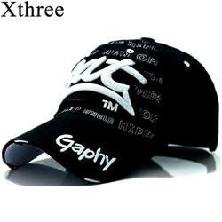 Xthree Оптовая Продажа snapback шляпы бейсбольная Кепка шляпы хип-хоп установлены дешевые шляпы для мужчин женщин gorras изогнутые поля шляпы