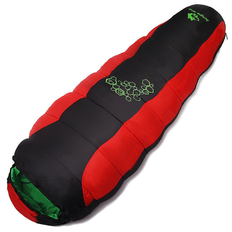 Outdoor Waterproof Ultralight Camping Hiking Sleeping Bag for Tourists Travellers Sleeping Bags for Cold Weather Mummy Winter naturehike mummy sleeping bag ultralight camping outdoor 3 season cotton winter adult sleeping bags for tourists 1750g 210 80cm