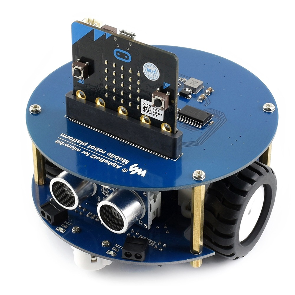 AlphaBot2 robot building kit for BBC micro:bit (no micro:bit). alphabot2 robot building kit for micro bit with controller bbc micro bit