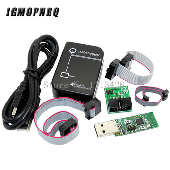 CC Debugger ZIGBEE emulator CC2531 CC2540 Sniffer Wireless Board Bluetooth 4.0 Dongle Capture USB Programmer Downloader Cable circle