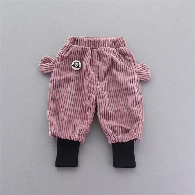 Novo inverno do outono do algodão calças infantis Meninos Meninas Calça Casual 2 Cores Crianças calças Harem Pants R2-16H