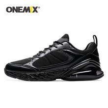 Купить с кэшбэком ONEMIX Running Sports Shoes Men Sneakers Women Winter Autumn Outdoor Jogging Sneaker Shock Absorption Cushion Soft Midsole Shoe