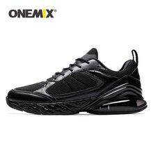 ONEMIX sportowe buty do biegania mężczyźni trampki kobiety zima jesień na zewnątrz Jogging Sneaker amortyzacja poduszki miękkie podeszwy buta