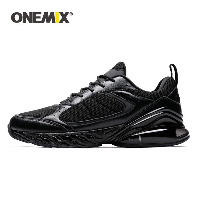 ONEMIX รองเท้าวิ่งกีฬารองเท้ารองเท้าผ้าใบผู้ชายผู้หญิงฤดูหนาวฤดูใบไม้ร่วงฤดูใบไม้ร่วงกลางแจ้งวิ่งจ๊อกกิ้งรองเท้าผ้าใบ Shock Absorption Cushion Soft รองพื้นรองเท้า
