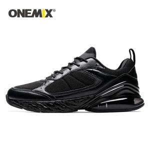 Image 1 - Onemix Running Sportschoenen Mannen Sneakers Vrouwen Winter Herfst Outdoor Jogging Sneaker Schokabsorptie Kussen Zachte Tussenzool Schoen