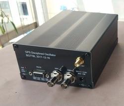 New Latest 10MHZ SINE WAVE SINEWAVE GPS DISCiPLINED CLOCK GPSDO + LCD Display