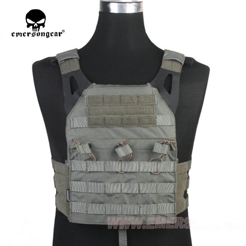EMERSONEAR JPC Vest zjednodušená verze Listová zelená Taktická vesta Airsoft Painball Combat Gear EM7344B FG